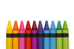 Generic Crayons Royalty Free Stock Images