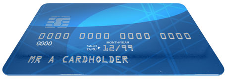 Generic Credit Card Royalty Free Stock Photo