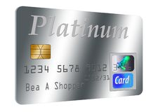 This is a generic credit card illustration. Logos and type are all generic stock illustration