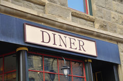 Generic Diner signage Royalty Free Stock Images