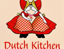 Generic dutch kitchen. Royalty Free Stock Images