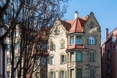 Generic European Architecture German Apartment Building Old Clas Stock Photos