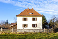 Generic family home in suburban area Royalty Free Stock Photography