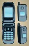 Generic Flip Phone, Color Stock Photos