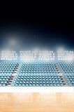 Generic Floodlit Stadium Royalty Free Stock Images