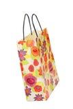 Generic floral paper bag Stock Image