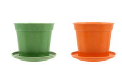 Generic flower pots Royalty Free Stock Photos