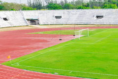 Generic football and general sports stadium Stock Images