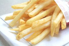 Generic French Fries from a Fastfood Restaurant Stock Images