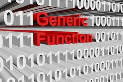 Generic function Royalty Free Stock Images