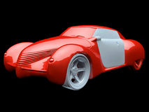 Generic model of car Royalty Free Stock Photos