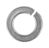 Generic galvanized lock washer Royalty Free Stock Photos
