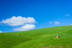 Generic Green Hilly Farmland Royalty Free Stock Photos