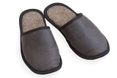 Generic grey slippers Stock Image