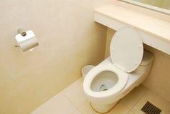 Generic high class toilet bowl Stock Photography