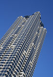 Generic Highrise Building. A generic highrise building, with a unique perspective Royalty Free Stock Image