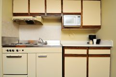 Generic kitchen layout Stock Image