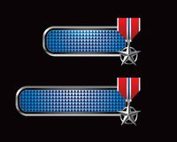 Generic military medals Stock Images