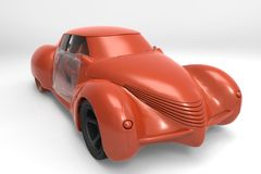 Generic model of car Royalty Free Stock Image