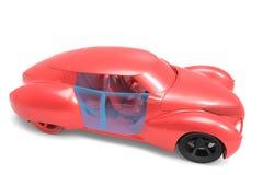 Generic model of car Stock Photo
