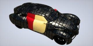 Generic model of car Stock Images