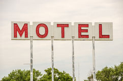 Generic Motel Sign Stock Image