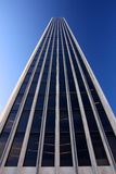 Generic office Tower rising into the Blue Sky Royalty Free Stock Images