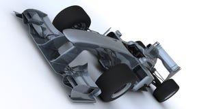 Generic open wheeled racing car. 3D render of a Generic open wheeled racing car Royalty Free Stock Photos