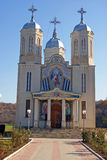 Generic orthodox monastery. Saint andrew orthodox monastery in dobrogea land of south east romania Stock Photography