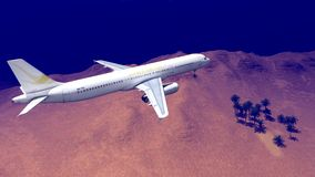 Generic plane Royalty Free Stock Image