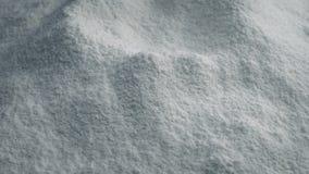 White Powder Rotating