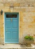 Generic pretty terraced house door Stock Photo