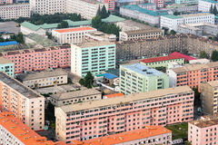 Generic pyongyang architecture, North Korea Royalty Free Stock Photography
