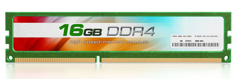 Generic RAM module Royalty Free Stock Photos