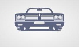 Generic retro car Stock Images