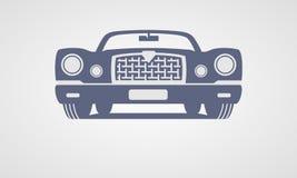 Generic retro car Royalty Free Stock Image