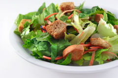 Generic Salad on white Stock Image