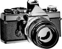 Generic SLR Photo Camera. Vector Illustration Stock Photo