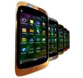 Generic smartphones Royalty Free Stock Image