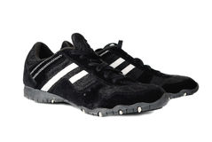 Generic sports shoes on white Royalty Free Stock Photography