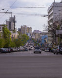 Generic Street Scene Stock Image