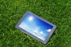 Generic tablet computer Royalty Free Stock Photos