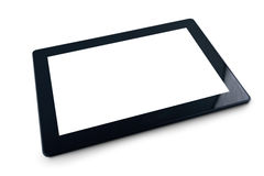 Generic Tablet PC on white background Royalty Free Stock Images