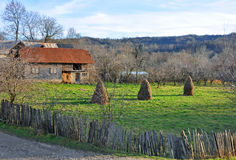 Generic transylvania rural household Stock Photos