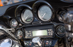 Generic truck dashboard Royalty Free Stock Photography