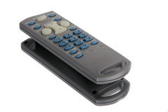 Generic TV remote on a reflective surface Stock Photography