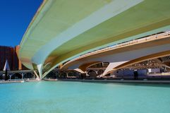 Generic view, City of Arts and Sciences, Valencia Royalty Free Stock Photos