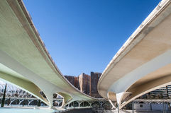 Generic view, City of Arts and Sciences, Valencia Royalty Free Stock Images