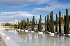 Generic view, City of Arts and Sciences, Valencia royalty free stock photography