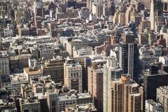 Generic view of New York City Stock Image